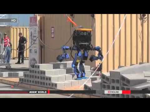 ► Japan's team wins robot competition in US