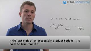LSAT Logic Game Lesson - Q1 - Must be True Question in a Basic Ordering Game