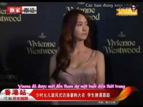 [Yoonavn][Vietsub][121031]  YoonA - Interview @ Vivienne Westwood Fashion Show