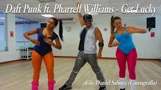 Daft Punk Ft. Pharrell Williams Get Lucky Cia. Daniel