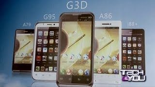 Tech And You: G'Five Launches New Android Smartphones NewsX