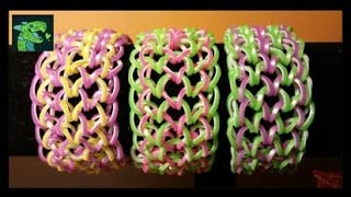 How To Make A Dragon Scale Bracelet With The Rainbow Loom