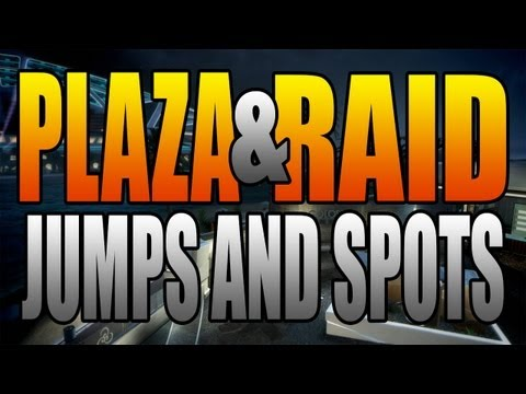 BO2 Jumps and Spots - Plaza and Raid (Black Ops 2)