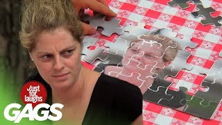 Video April Fools' Just For Laughs Gags Special - Best Photo Magic Pranks