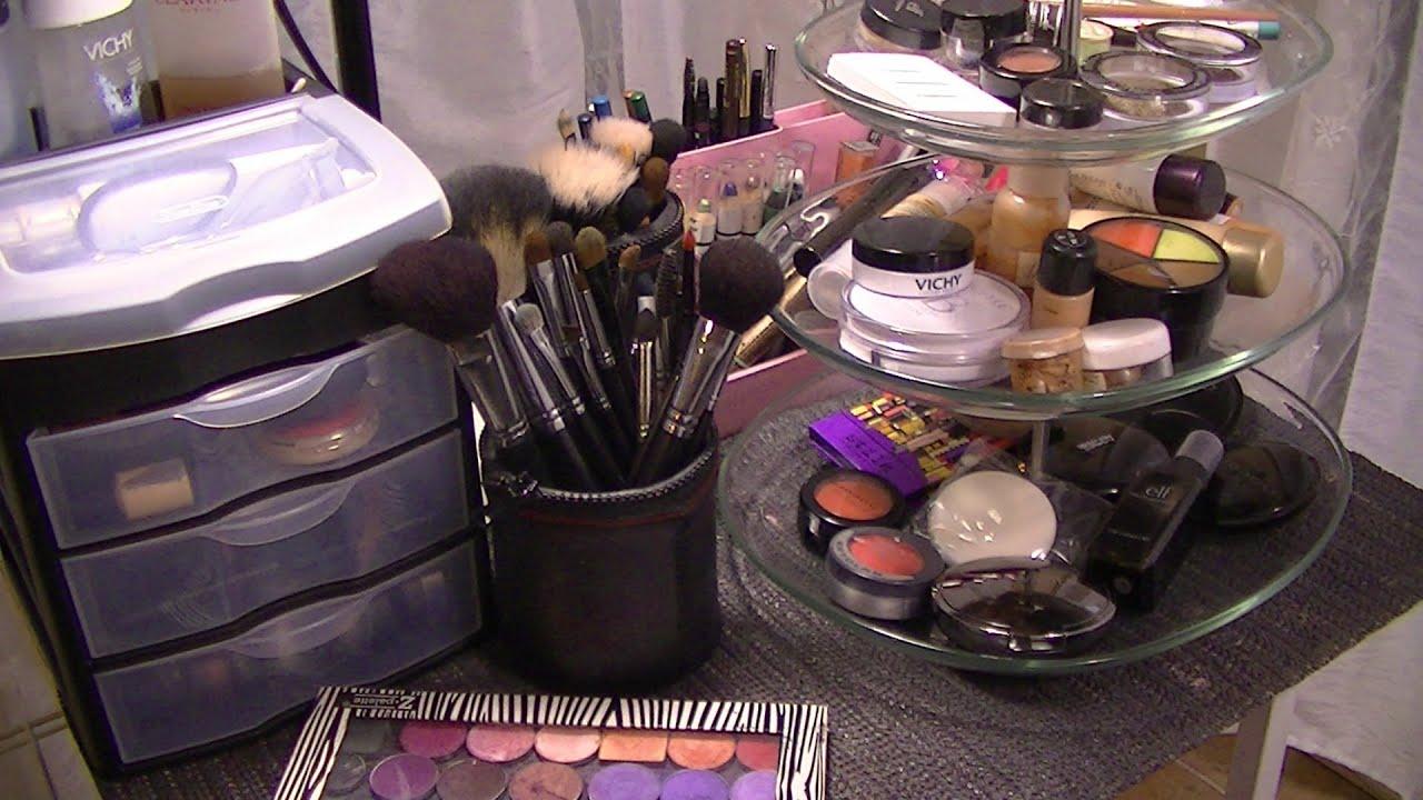 Id Es De Rangement Maquillage Youtube