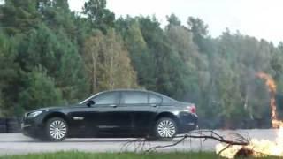BMW zırhlı araç eğitimi