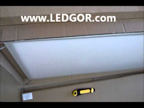 1200*600mm white led panel European style & super slim - LEDGOR