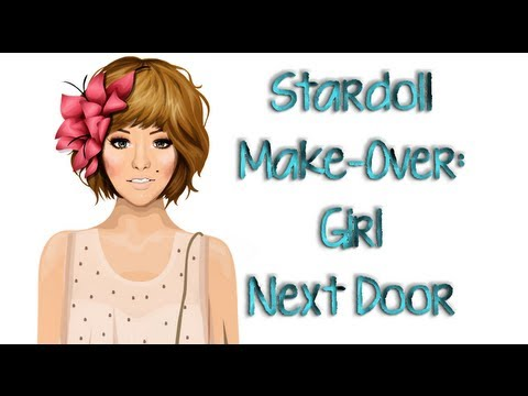 Stardoll Make-Over: The Girl Next Door