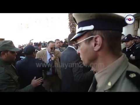 تعنيف القوات المساعدة للملياردير فوزي الشعبي