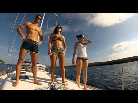 Segeln mit Freunden in Kroatien [Sailing with friends in Croatia]