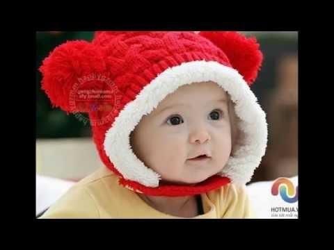 Mũ len cho bé http://Hotmua.vn
