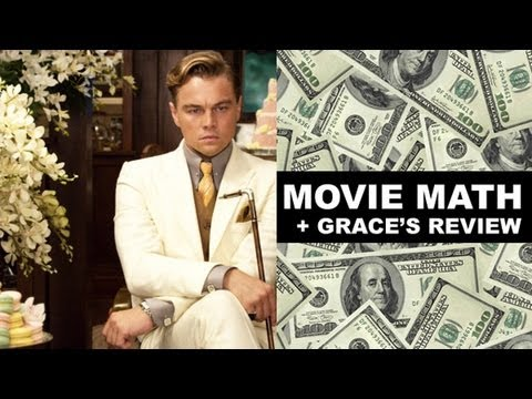 Box Office for The Great Gatsby 2013 + Grace's Movie Review!