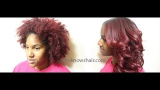 Cooking | How to Straighten and Trim Natural Hair | How to Straighten and Trim Natural Hair