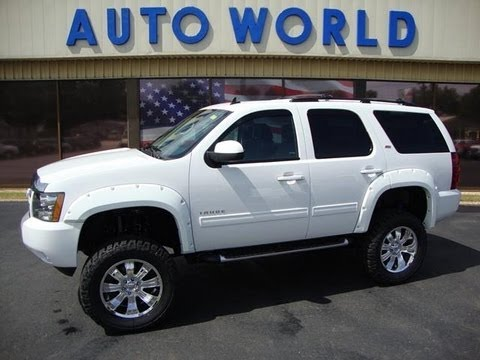 Lifted Tahoe For Sale Nc >> Mansfield Auto World's 2013 Lifted Chevy Tahoe - YouTube