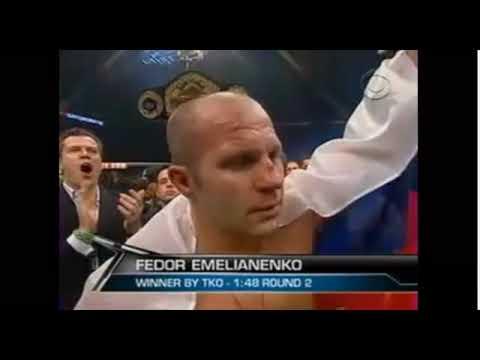 Fedor Emelianenko vs Brett Rogers PART 2/2 + Ending Comments (STRIKEFORCE CBS 7/11/2009)