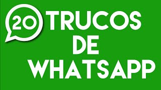 Trucos y Tips que no sabías de WhatsApp