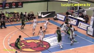 Real Madrid / Wally Niang Meilleur junior du championnat d'Espagne de basket