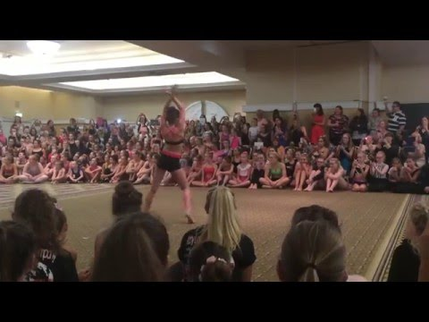Kendall Vertes - Applause (Dance Moms Tour Manchester)