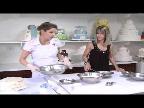 Como Fazer Pasta Americana para Confeitaria - Cobertura de Bolo AndressaSandri (+Estilo)