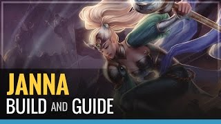 League Of Legends Janna S4 Build And Guide