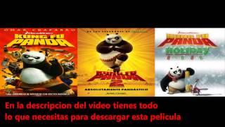 Descargar Kung Fu Panda 1 Y 2 DVDRip Latino [HF]
