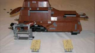 Star Wars Lego MTT Construction