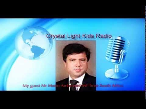 Crystal Kids Radio Interviews Mario Ambrosini MP for South Africa