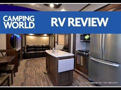2017 Montana High Country 345RL RV Review | Premium 5th Wheel | Nutmeg | Ian Baker
