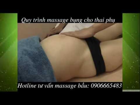 Massage bau tại nhà