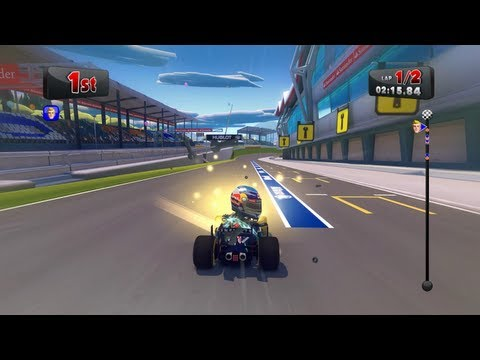 F1 Race Stars Gameplay