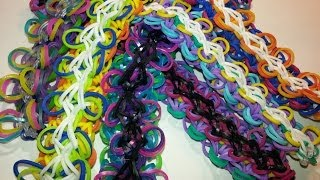 Ruffle Bracelet Tutorial For The Rainbow Loom