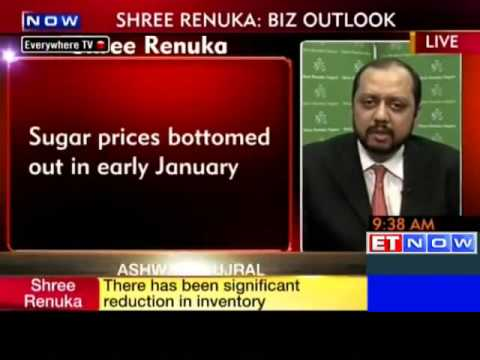 Sugar prices bottomed out in early Jan: Shree Renuka