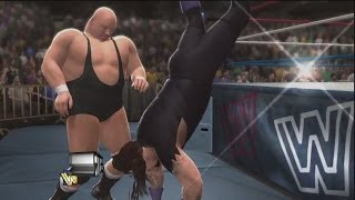 WWE 2K14 Undertaker's Outside Dive OMG Moment Countered