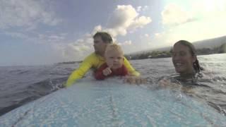 11 Month Old Surfer