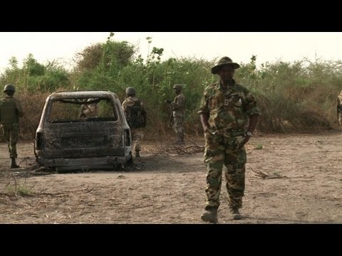 Nigeria military parades progress against Islamists