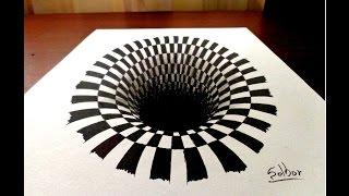 Dibujar una ilusión óptica