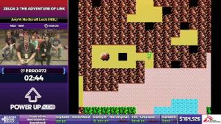 Zelda 2: The Adventure of Link by Error72 in 49:31 - SGDQ2017 - Part 105