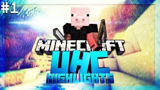Minecraft UHC Highlights: #1 - w/ ImCHoNGLeR, Sylvia & TehGreenMC [Block Chaos S1.5]