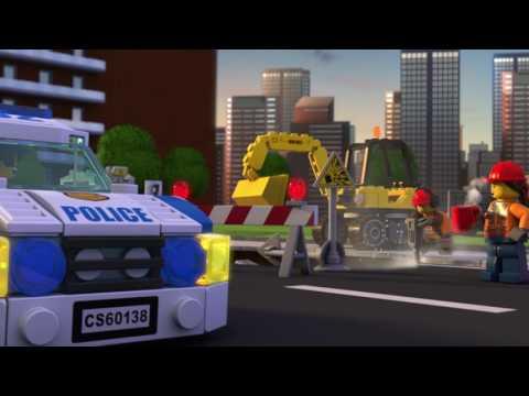 LEGO City Polícia - Zlodeji na úteku