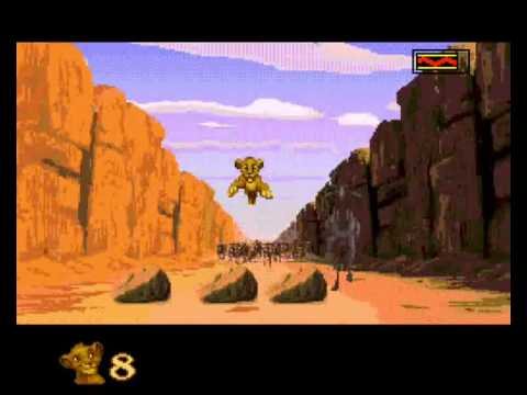 Lion King, The - Level 4: The Stampede - User video