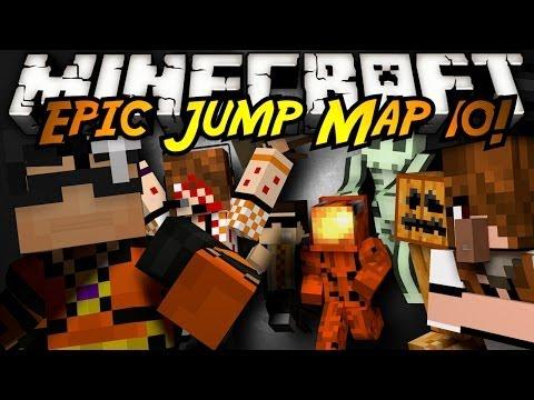 Minecraft: Epic Jump Map Halloween FINALE!