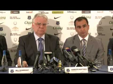 Everton - Roberto Martinez Press Conference (FULL)