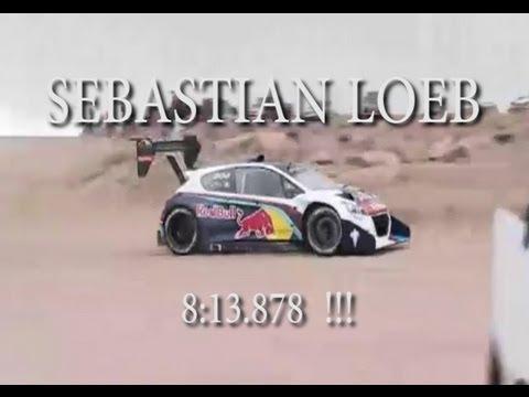 S.LOEB Pikes Peak Peugeot 208 !!!!