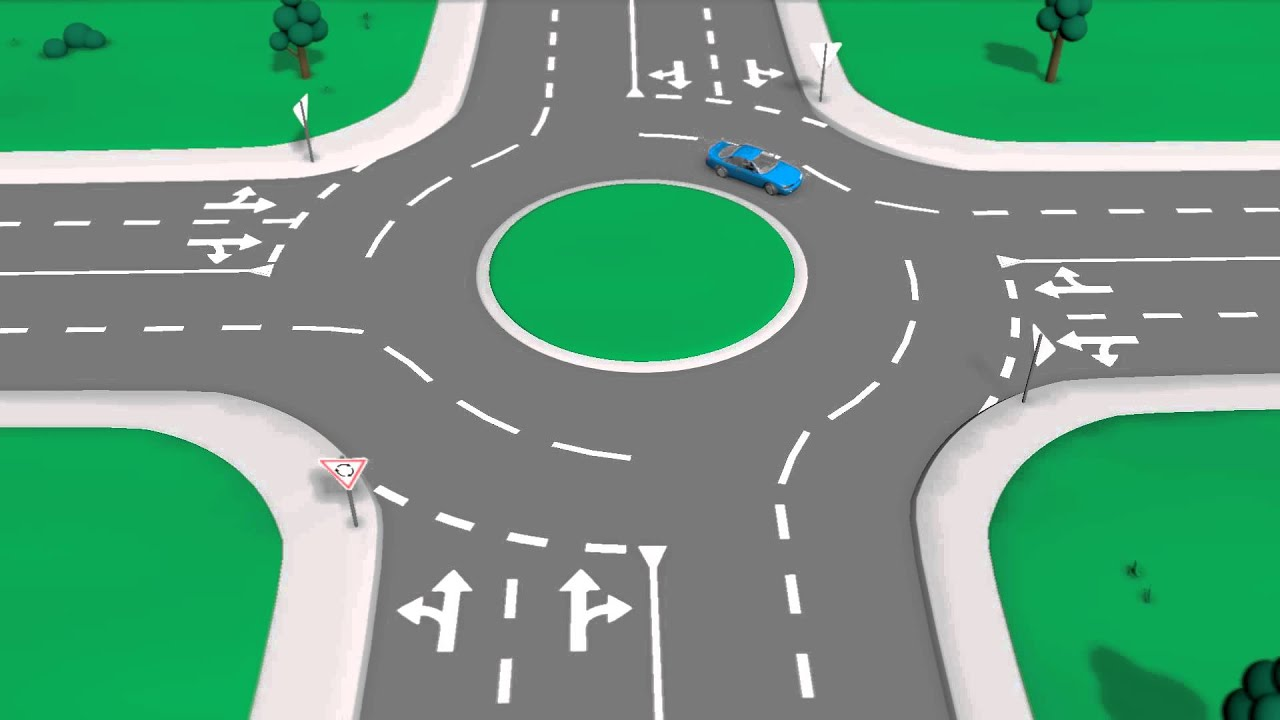 Road Rules Roundabouts Youtube