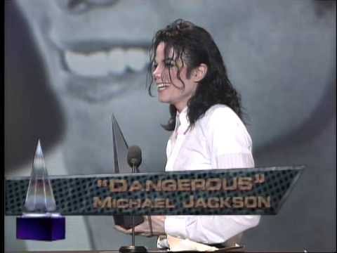 Michael Jackson wins Favorite Pop/Rock Album for