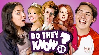 DO TEENS KNOW 2000s TEEN MOVIES? (REACT: Do They Know It?)