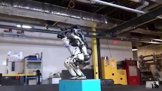 Обновленный робот Atlas из Boston Dynamics(озвучка, много мата)