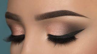 Soft Rosy Smokey Eye Makeup Tutorial