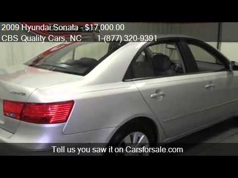2009 Hyundai Sonata Limited - for sale in DURHAM, NC 27703