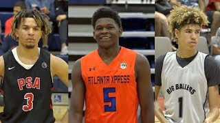 Top 15 Players Class of 2019! Feat. Anthony Edwards, LaMelo Ball, Nico Mannion etc!